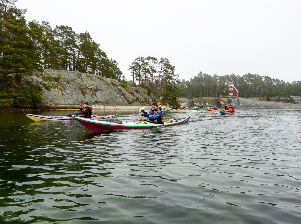 Kayaking the Stockholm Archipelago