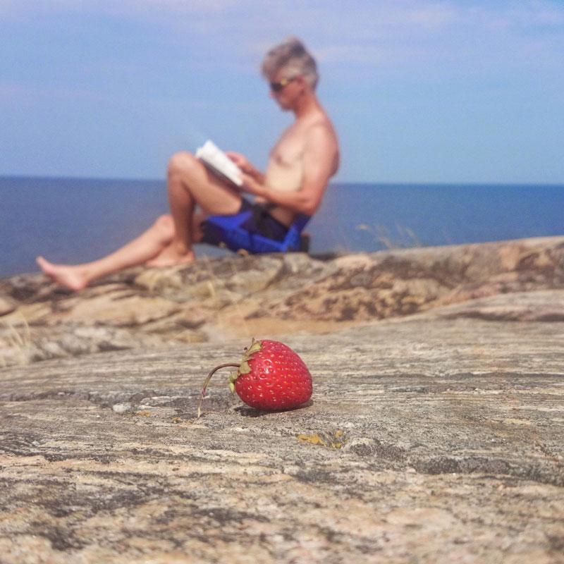 Paddla kajak till Stora Sandön