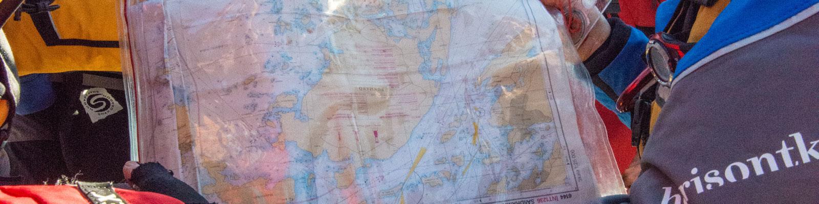 Havskajakledare- Utbildning enligt Svenska Kanotförbundet