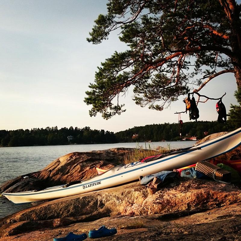 Hyra kajak i Stockholm