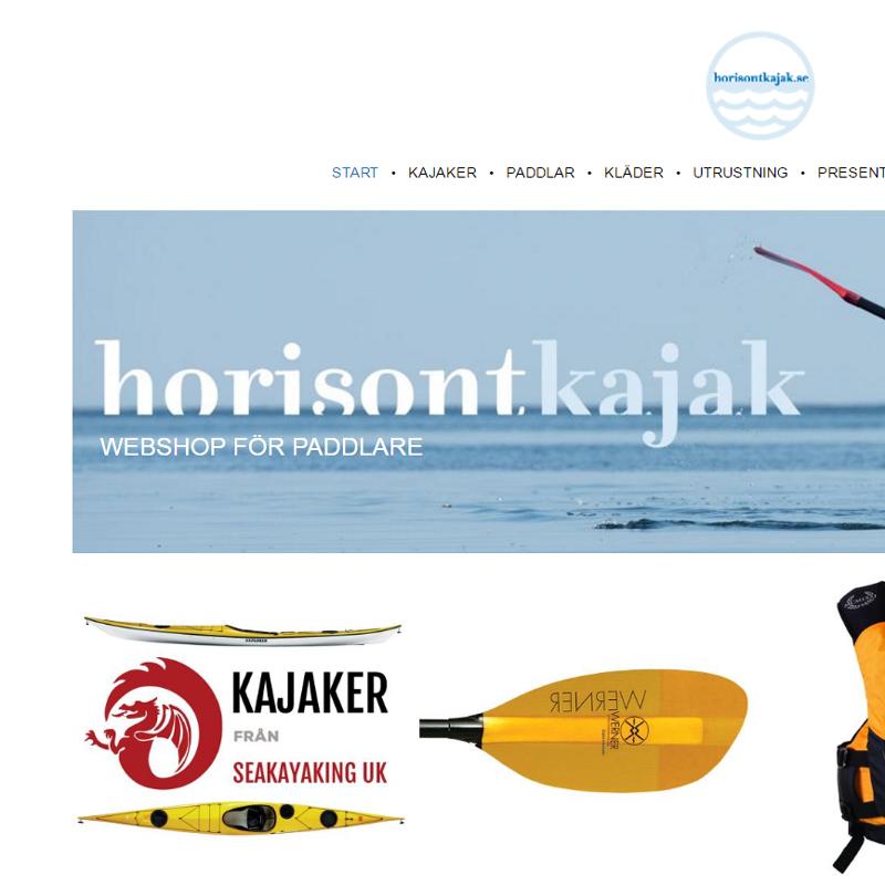 Webshop Horisont Kajak