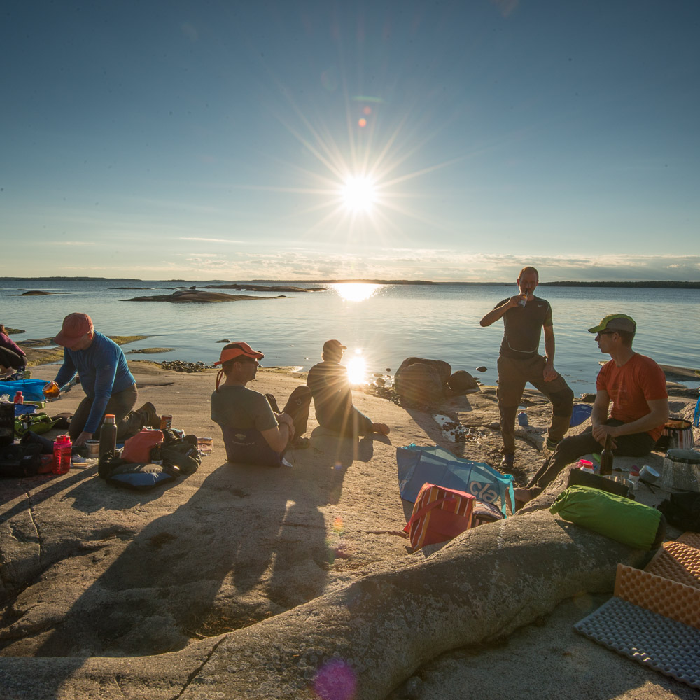 Self Guided kayaking in the Stockholm Archipelago