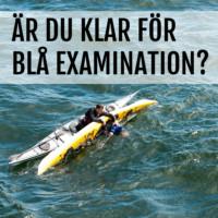 Examination i Blått Paddelpass