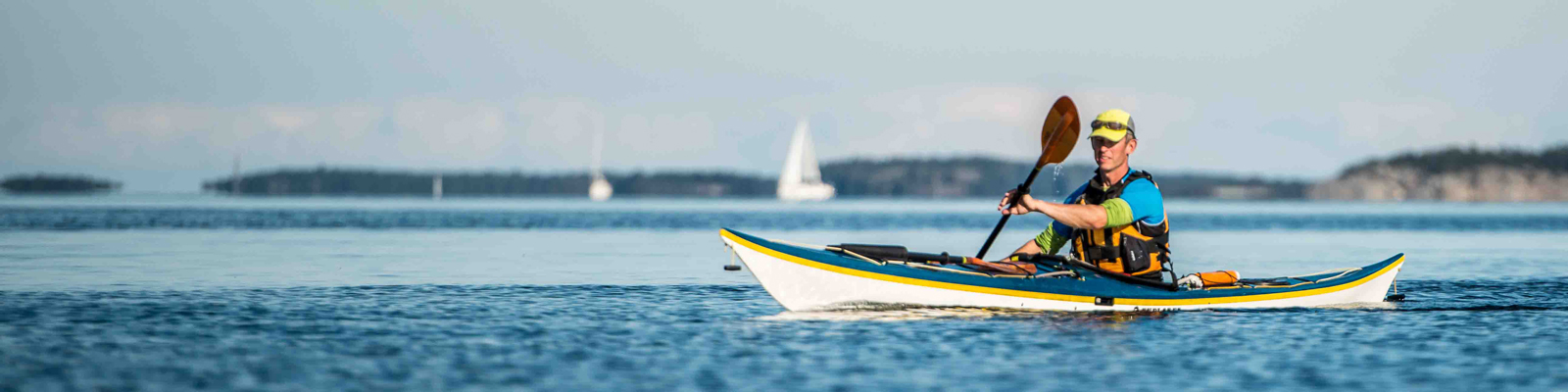 Guided kayaking trips in the Stockholm Archipelago