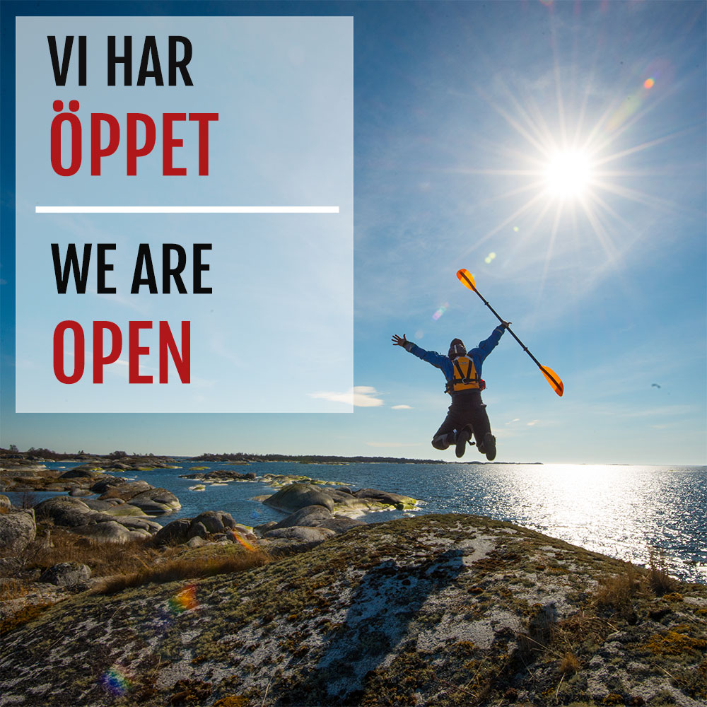 We are open – Vi har öppet
